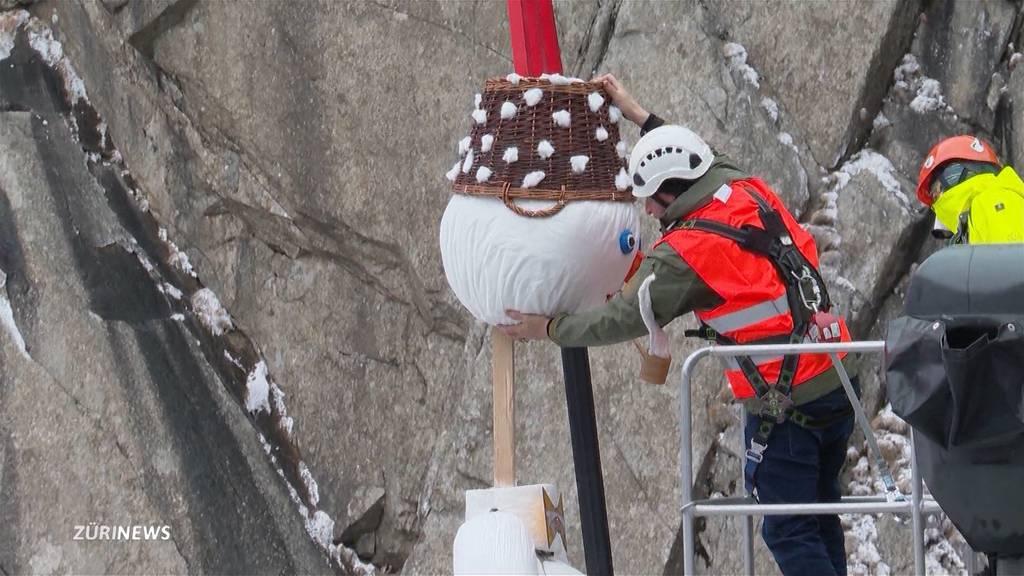 Ein «Teufelskampf» in der Schöllenenschlucht: So aufwendig waren die Böögg-Aufbauarbeiten
