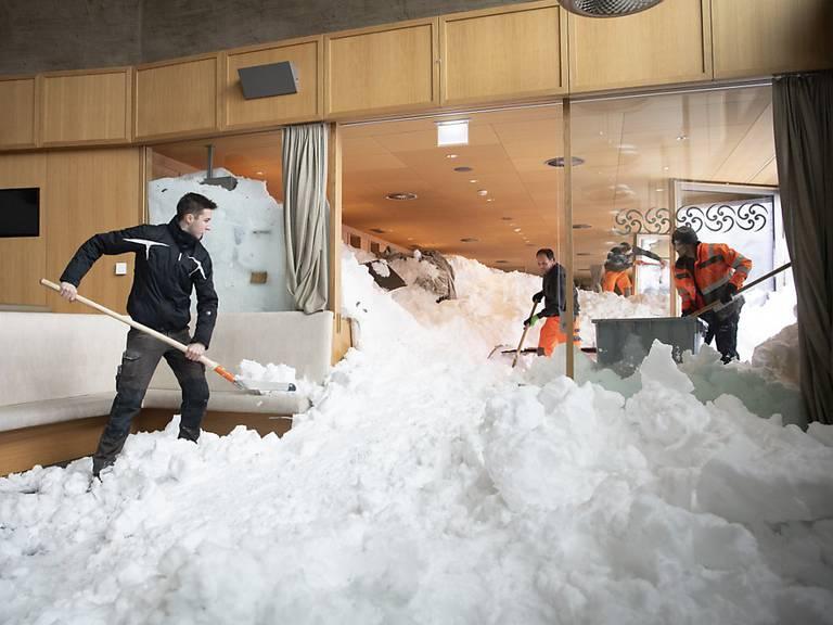 So sah es im Januar im Innern des Restaurants aus. Archivbild: Keystone/Gian Ehrenzeller