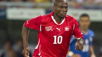 Nkufo trug das Nati-Dress 34 Mal und erzielte dabei sieben Tore