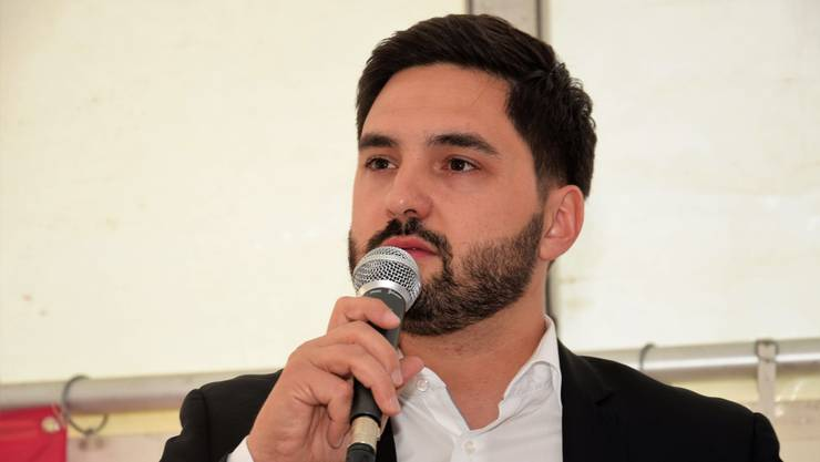 Ständeratskandidat Cédric Wermuth setzte sich für eine Kooperation mit der GLP ein.