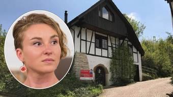 Irene Kälin und ihr neues Zuhause in Oberflachs.