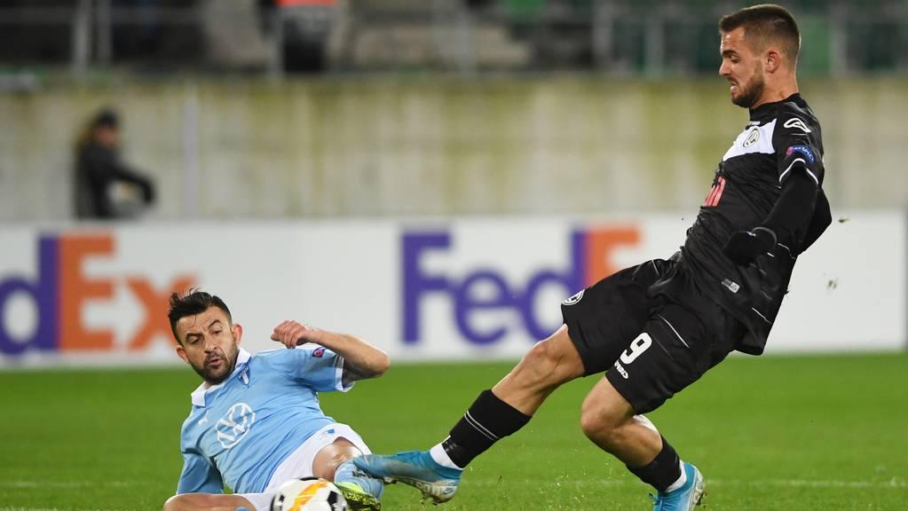 Malmö gegen Lugano
