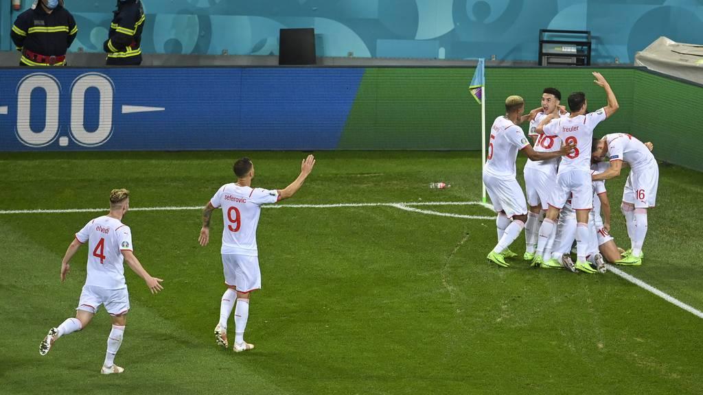 Die Schweiz schafft das Unglaubliche: Viertelfinal, wir kommen!