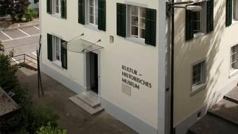 Das ehemalige Rainschulhaus beherbergt heutzutage das Museum.