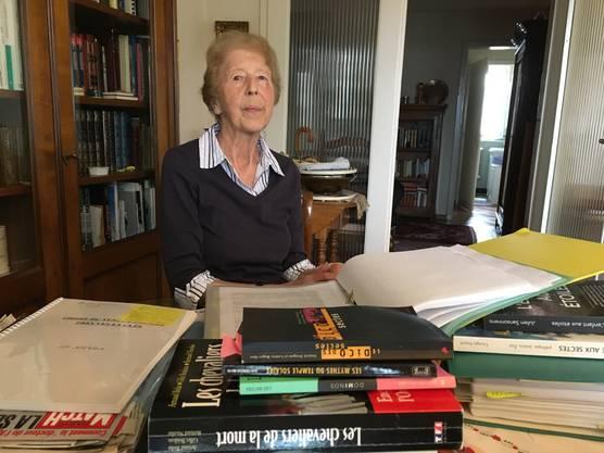 Rosemarie Jaton Die Schwester eines Opfers sucht seit 25 Jahren nach der Wahrheit über die Sonnentempler
