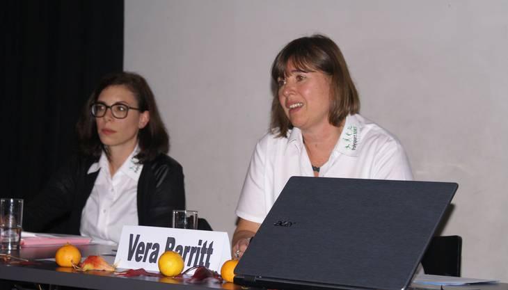 Vera Barritt (rechts) leitete die Planungskonferenz sehr speditiv.