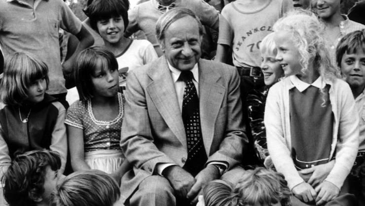 Herman Gmeiner, Gründer der Hilfsorganisation SOS-Kinderdorf (Archiv)