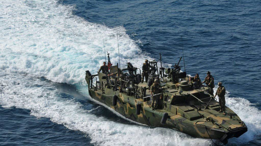 Zwei solcher Boote gerieten wegen einer Motorpanne in iranische Hoheitsgewässer, woraufhin die Besatzung festgehalten wurde - jetzt sind die Soldaten wieder frei. (Archiv)