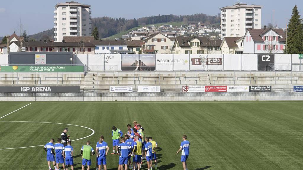Der FC Wil rekurriert auch gegen den zweiten Punkteabzug. (Archiv)