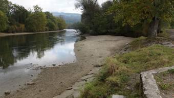 Der Zugang zur Sandbank, dem beliebten Badeort, soll mit dem Renaturierungsprojekt erleichtert werden. kob