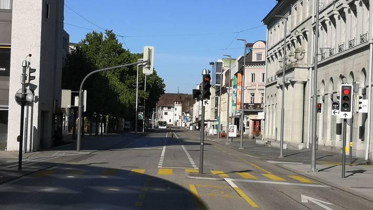 Neben der Süd- soll auch die Nordseite der Bahnhofstrasse eine kühlende Allee bekommen.