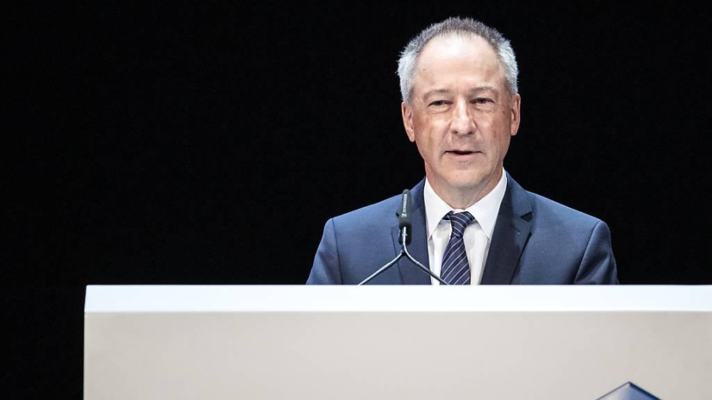 Jens Alder, Verwaltungsratspräsident von Schmolz und Bickenbach, muss einen happigen Verlust des Stahlherstellers für 2019 ausweisen. (Archiv)