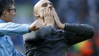 Den Citizens mit Trainer Pep Guardiola droht juristisches Ungemach