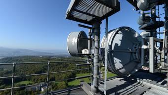 Einmal von ganz oben den Ausblick geniessen: Tag der offene Tür beim Chrischona-Turm