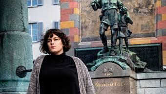 Patti Basler (44), Bühnenpoetin, Autorin, Kabarettistin und Satirikerin.