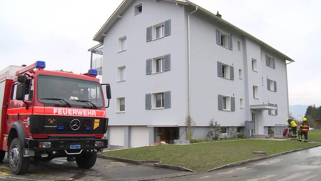 Diepoldsau (SG): Rauchentwicklung im Mehrfamilienhaus