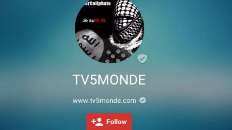 Die Angreifer haben unter anderem das Profilbild auf der Google-Plus-Seite der französischen Senderkette TV5Monde ausgewechselt. In Anspielung auf den Solidaritätsslogan zum Attentat auf Charlie Hebdo in Paris heisst es nun «Je suIS IS» («Ich bin IS»).