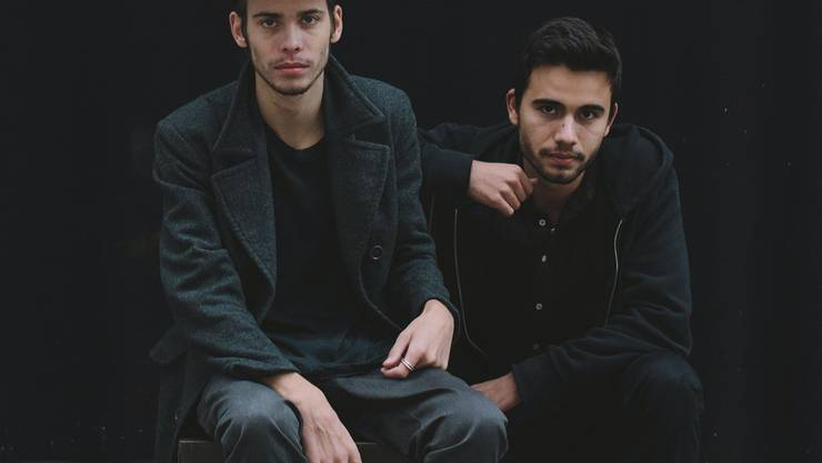 Krys Ondrejek (li.) und Dave Walker entwerfen gemeinsam Skatermode.
