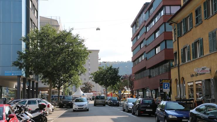 Die Bahnhofstrasse in Schlieren.