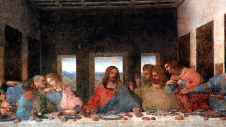 """Zum Schutz von Leonardo da Vincis """"Letztem Abendmahl"""" sollen die Trams in Mailand langsamer fahren. (Archivbild)"""