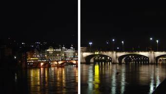 Basel by Night: Neues Beleuchtungskonzept macht Basel auch in der Nacht sichtbar