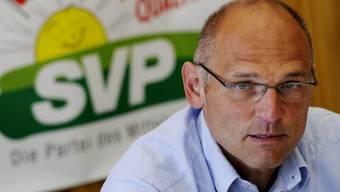 Der Zürcher SVP-Nationalrat Alfred Heer (Archiv)