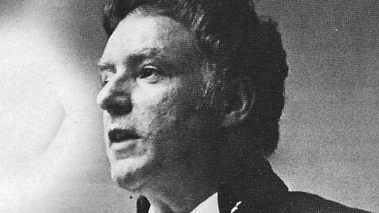 Franz Doppler als Zürcher «Badenfahrt»-Dichter David Hess.