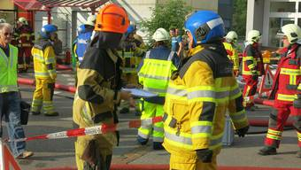 Feuerwehr Alarmübung