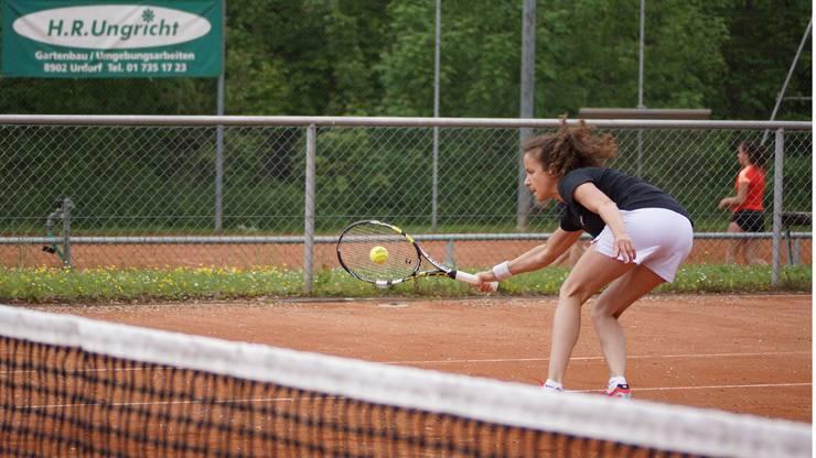 Impressionen von Raluca Ciulei, der rumänischen Teamleaderin des TC Weihermatt.