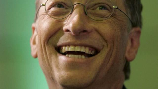 Er hat gut lachen: Bill Gates ist wieder der reichste Mensch der Welt