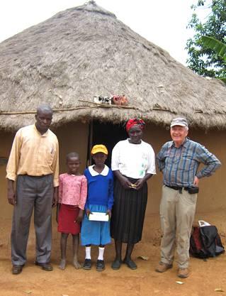 Dankbare Waisen und Verarmte