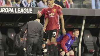 Erzielte das einzige Tor in Vigo: Manchester Uniteds Marcus Rashford