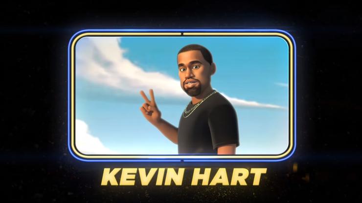 Kevin Hart als Kanye West