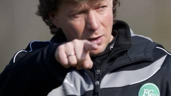 Der neue Trainer vom FC St. Gallen, Jeff Saibene