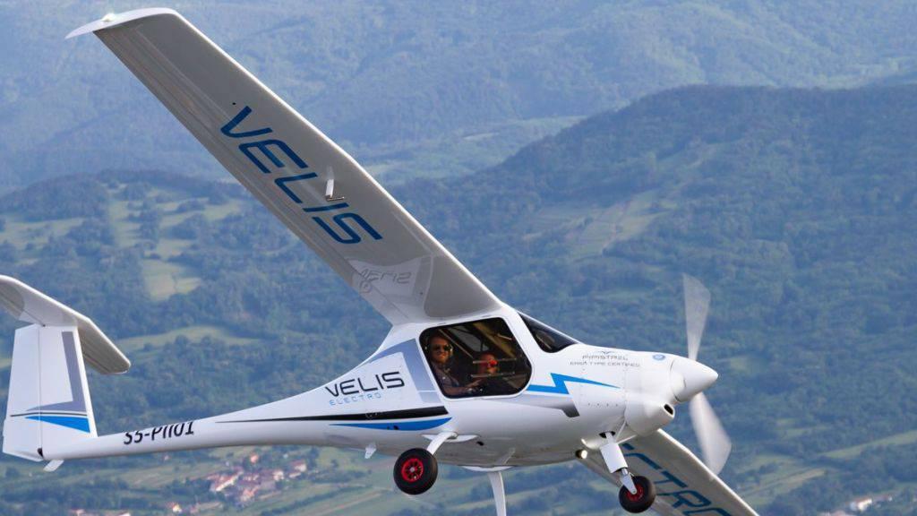 Erstes Elektro-Flugzeug in der Schweiz zugelassen