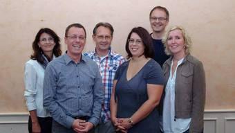 Die Redaktion (von links): Daniela Koller, Benedikt Nüssli, Hanspeter Koch, Anja Emmenegger, Emil Inauen und Doris Busslinger.ZVG