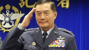 Taiwans Generalstabschef Shen Yi-ming ist bei einem Helikopterunfall ums Leben gekommen. (Archivbild)