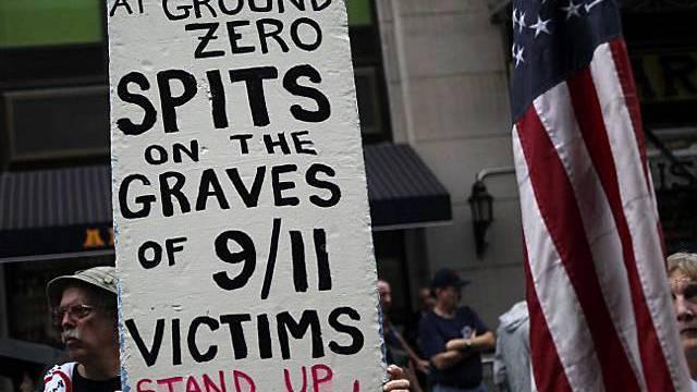 Widerstand gegen den Bau einer Moschee am Ort der 9/11-Anschläge