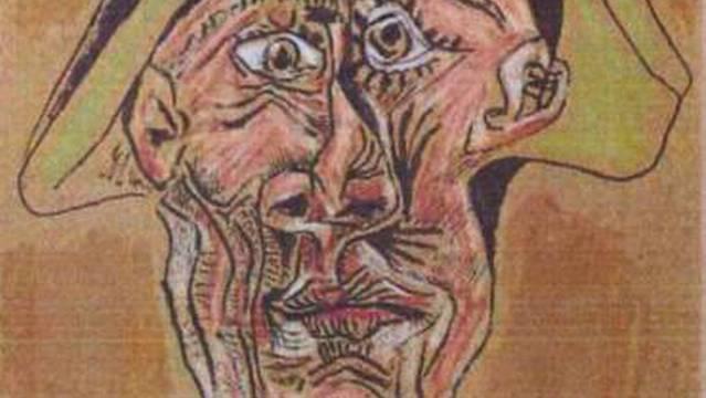 Picasso-Bild aus der Rotterdamer Kunsthalle - von der Polizei als Fahndungsfoto freigegeben (Archiv)