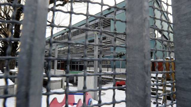 Blick ins Asylempfangszentrum in Chiasso (Archiv)