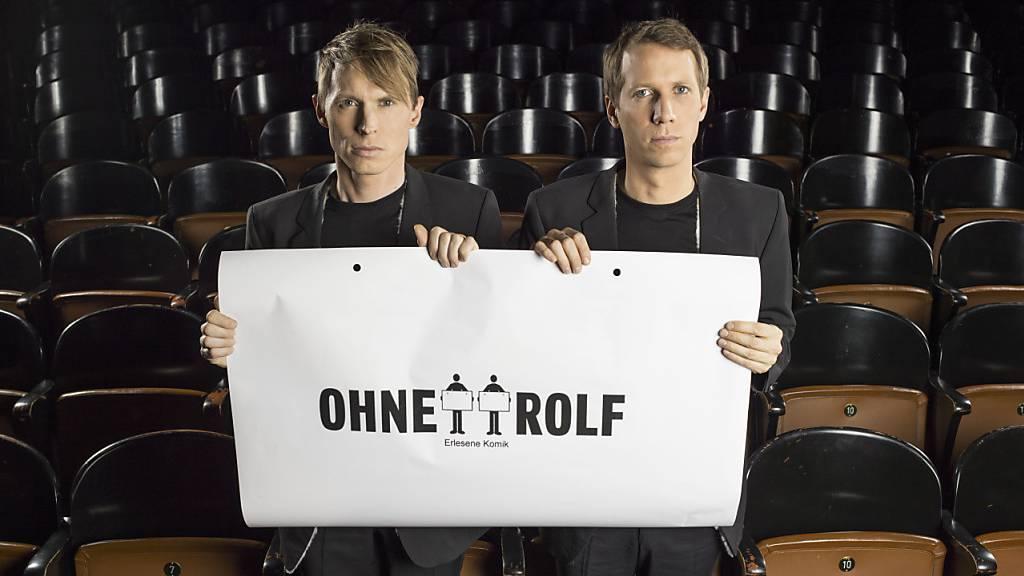 Künstlerduo Ohne Rolf feiert Premiere im Kleintheater