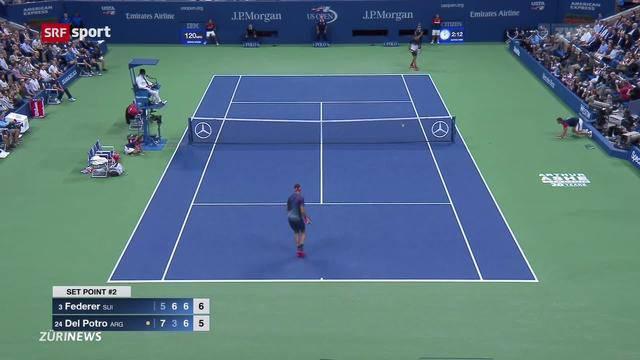 US-Open-Aus für Federer