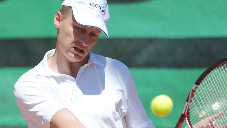 Christoph Kuhn ist der Teamleader der NLA-Jungsenioren des TC Grenchen.