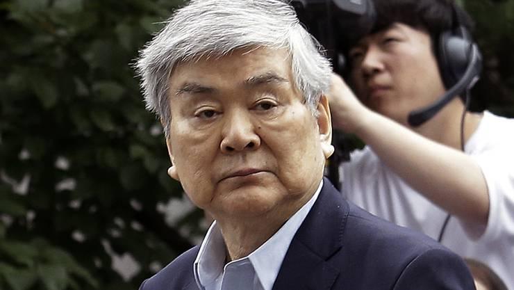 Starb an den Folgen einer Lungenerkrankung: Cho Yang Ho, Chef der südkoreanischen Fluggsellschaft Korean Air. (Archivbild)