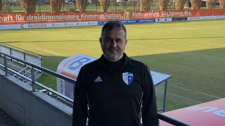 Der neue Trainer Thomas Jent konnte der Mannschaft neues Selbstvertrauen im Abstiegskampf geben.