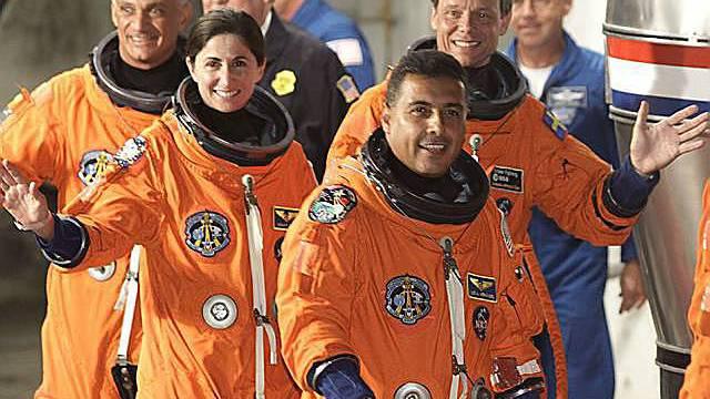 Astronauten vor dem Start
