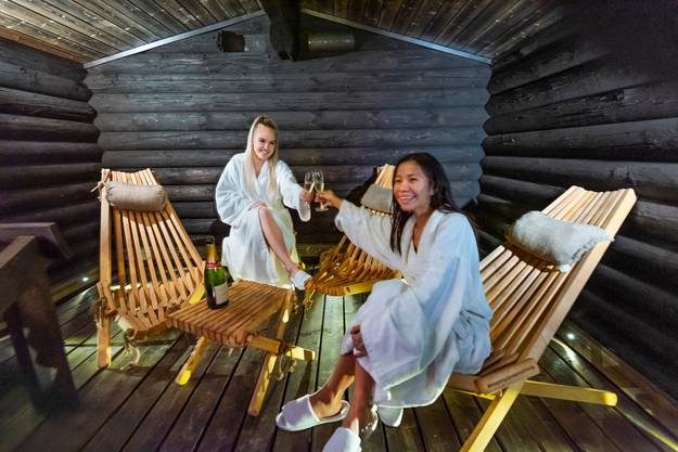 Eine Sauna gibt es in fast jedem finnischen Sommerhaus.