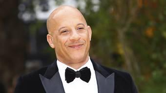 """Der Schauspieler Vin Diesel war bei der Vorstellung des Trailers für den Film """"F9"""" mit dabei. (Archivbild)"""