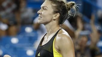 Simona Halep rückt der Weltranglisten-Ersten Karolina Pliskova näher