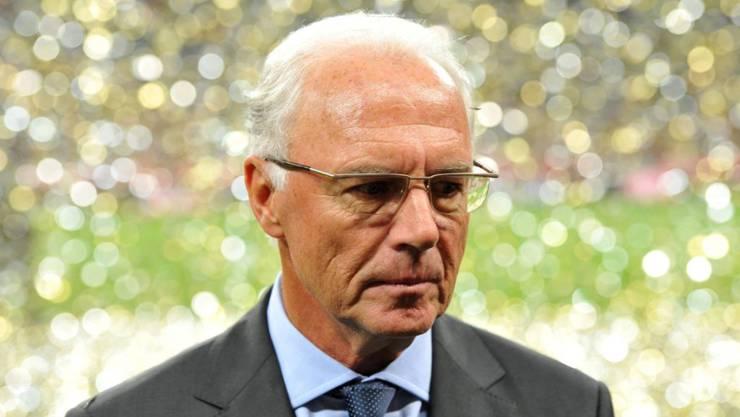 Gegen Franz Beckenbauer wird offenbar wegen Geldwäsche und Untreue juristisch vorgegangen. (Archivbild)